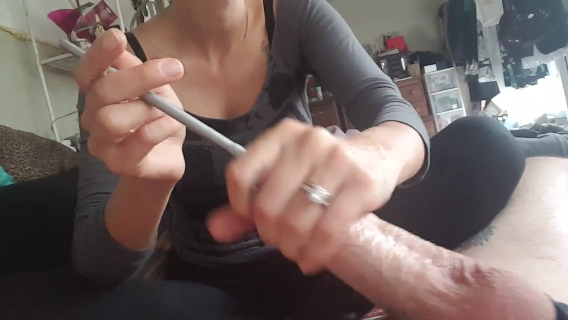 Urethra Insertion - Sounding Pee Hole - Teen Discover -4934