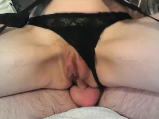Squirts while fucking Her Ass