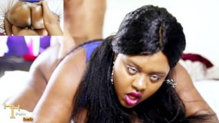 Ebony Glazed Doughnut Butt Getting WORKED – Nude Facial / Hardcore Sex