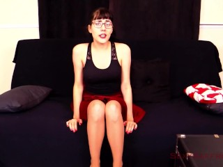 Secretary Seduces You with Her Dirty Feet and Pantyhose - Trailer