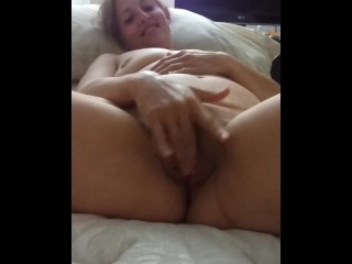 Sexy Blonde Milf Plays And Sucks For Daddy