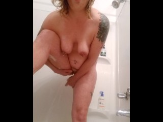Solo Dildo Shower Show