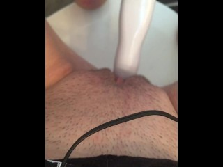 Cherry Pop plays with her self teaser
