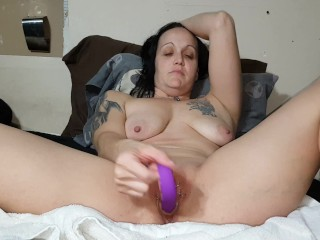 Amateur/with collection masturbates wife of