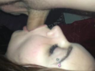 Dirty Little Slut Gets Throat Fucked