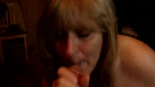 Queenmilf Gives Another Great BJ with a face full of cum 5-5-16