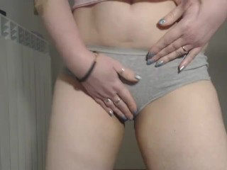 pee in my gray shorts