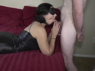 Big tit Milf gets Huge Creampie