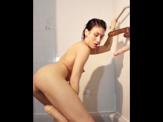 3 Sex Toys in the Shower