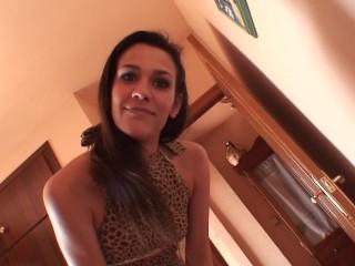 Homemade porn video with skinny spanish girl