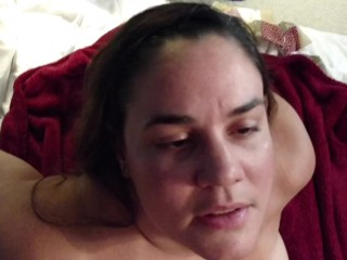 Whore bangs her guy and takes facial love the slut she is…