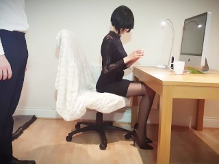 Incredibly HOT and slutty secretary you can only dream would work for you!