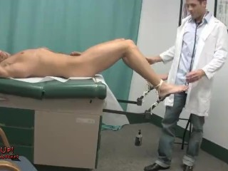 patient tied and tickled