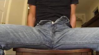 Jeans cumshot compilation part 1