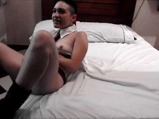 Amateur Couple Hot Sex in Motel Room Part 4