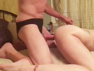 Our first doggy style video
