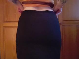 Sexy Tattooed Bubble Butt Wedgie