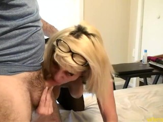 Glazed/straight sex/used face milf pussy get s