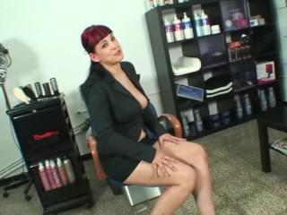 Fucking the ass of slut spanish hairstylist