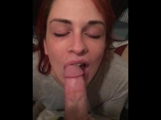 Cute Young Redhead Slut with Juicy Booty Sucks Grts Fucked and Facialized