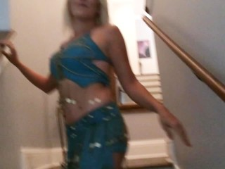 Horny Princess Jasmine Takes A Load To The Face