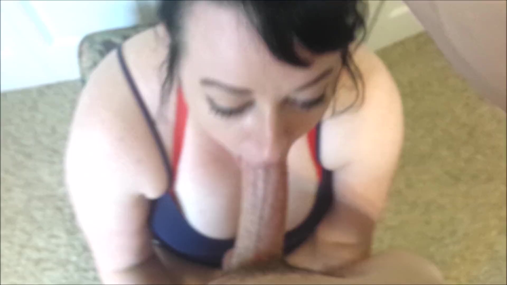 Big dick deepthroat