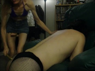 Boy/guy/hot strapon wife with dominates