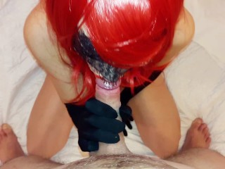Amateur blowjob and cum in mouth compilation