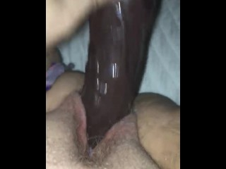 White Pussy likes Black Cock