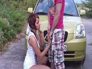 German Couple caught during Outdoor-Public-Sex