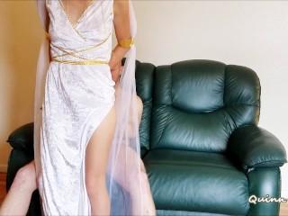 Athenian Goddess (kissing, blowjob, riding, creampie)