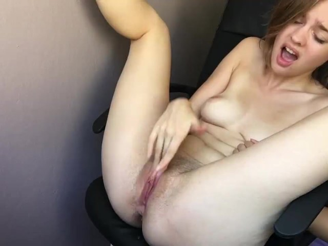 Girl Masturbates Squirts Hard