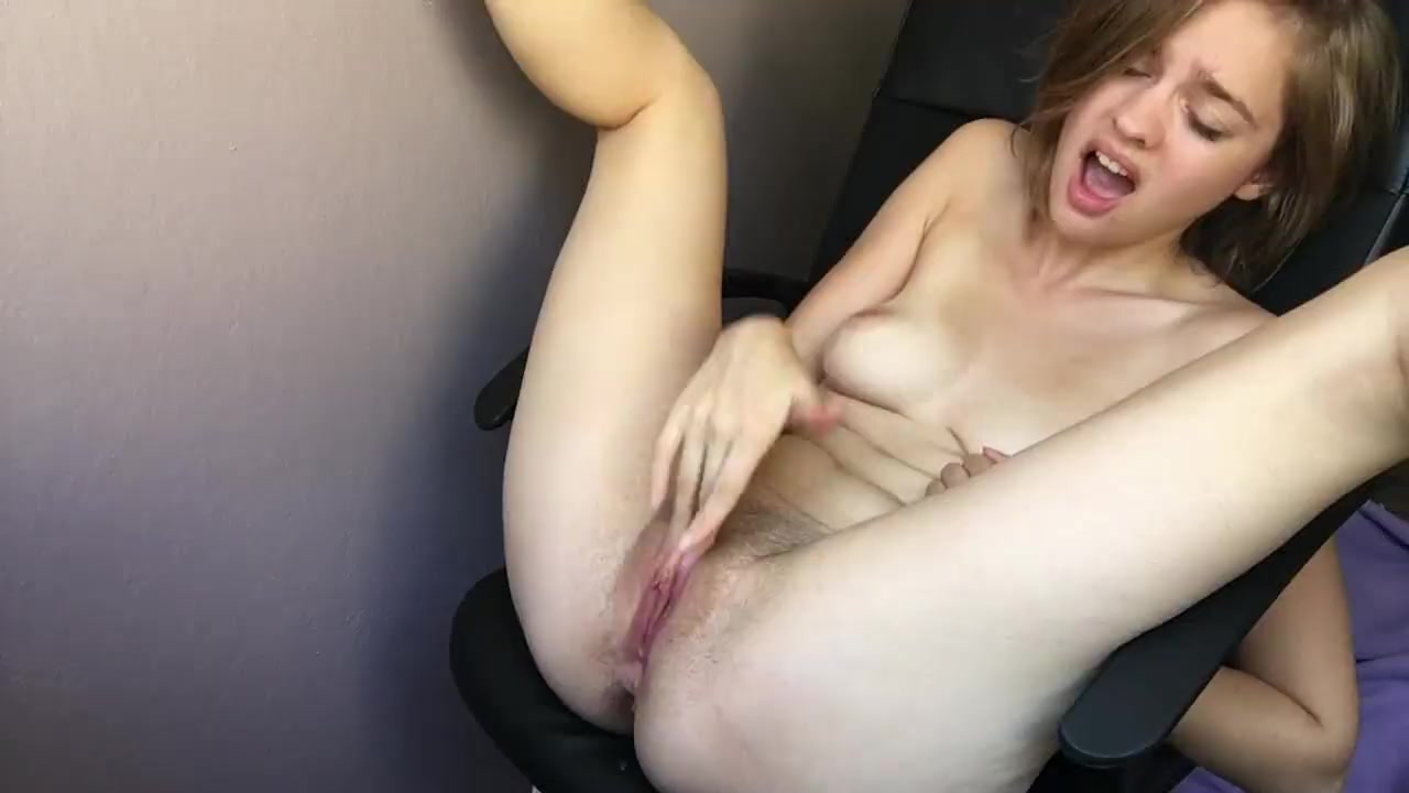 Clips of female masturbation video