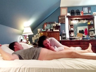 Late morning sex with amateur Milf...