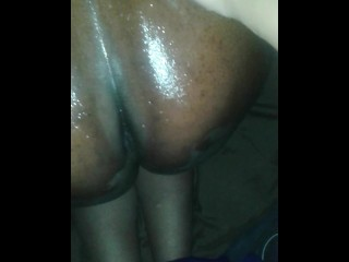 Oil massage with wife get intense