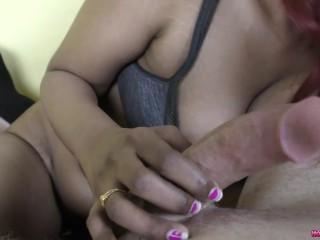 HornyLily giving sensual bj POV