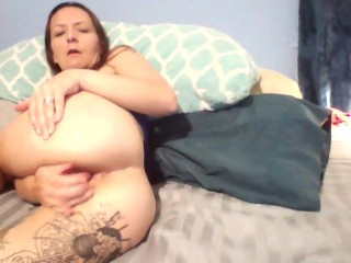 Showing Big Daddy I'm ready for his big cock in my ass