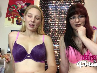 Two Hot Girls Make You Jerk Off For Them