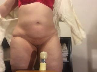 Hot Redhead Multiple Magic Wand Orgasm