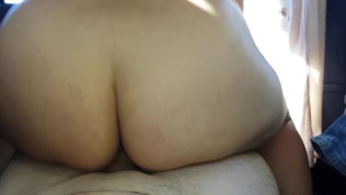Son gives mom a creampie in the car Mom And Step Son