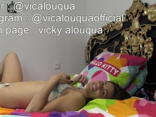 Horny Brunette Love Anal Sex and Squirt - Brune, coquine et femme fontaine