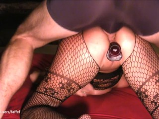 Amateur wife begs for anal creampie spanking till she gushes (faffef)