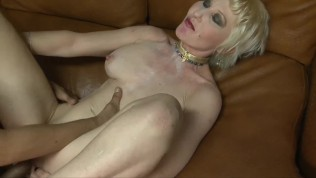 Blonde milf interracial fucking & facial cumshot with Dalny Marga