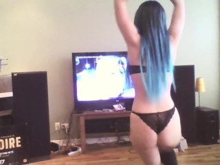 White Girls Can Dance — Welcome Spring with Fucking Cutie Hoop & Dance!