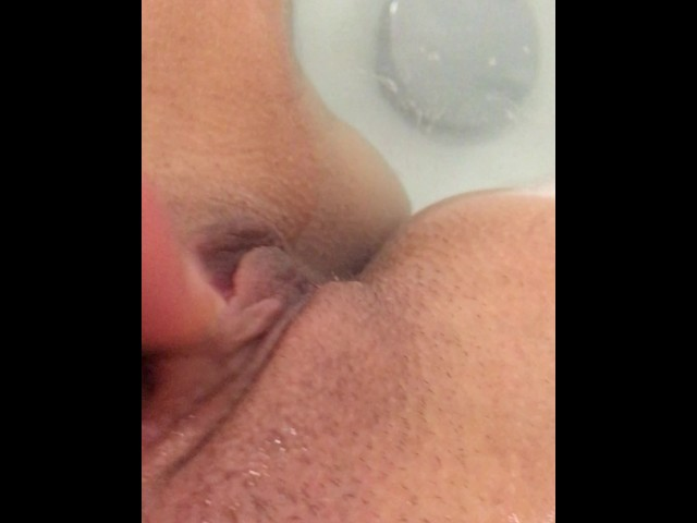 Latina Clit Rubbing Orgasm