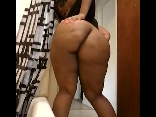 Sexy Ebony bbw and pretty assets