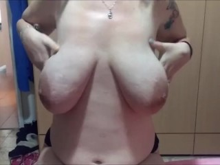 hot MILF give boobjob and blowjob with facial cumshot