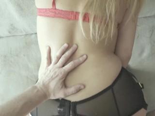 Epic Antique Anal to Oral fucking with tremendous erotic slut in nylon stocking
