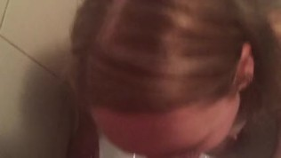 Pissing in mouth during sucking