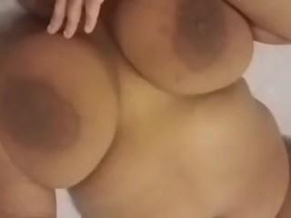 RosyRedd Masturbates With Selfie Stick